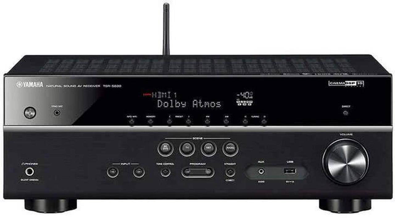Yamaha TSR-5830-R 7 2-Channel MusicCast AV Receiver -Certified Refurbished