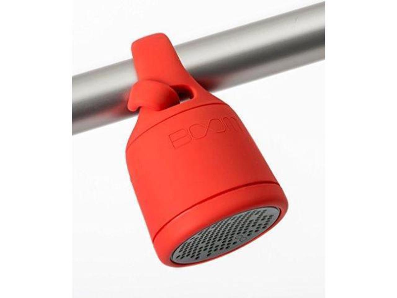 Polk Audio Boom Swimmer Bluetooth & Waterproof Speaker - Red - Refurbished