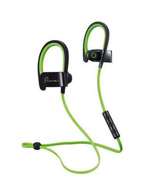 Mental Beats 72323 Pure Wireless Earbuds with Mic Green/Black