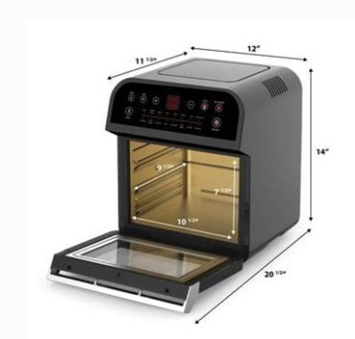 GoWise GW44800 12.7 Qt 15-in-1 Electric Air Fryer Oven
