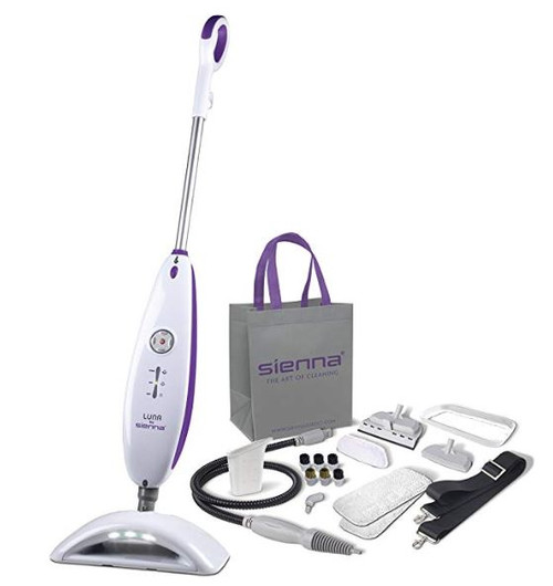 Sienna Luna Plus Black SSM-3016BLKX Steam Cleaning System- Refurbished