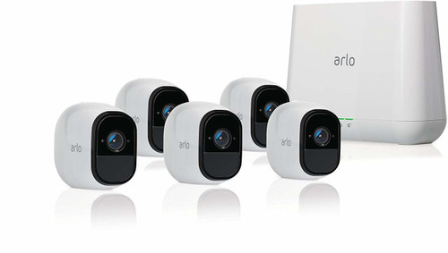Arlo Pro 2 VMS4530P-100NAR Smart Security System with 5 Cameras - Certified Refurbished