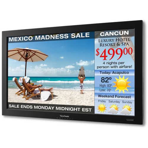 """ViewSonic CD3225-S 32"""" HD 1080p Commercial LCD Display Monitor - Certified Refurbished"""