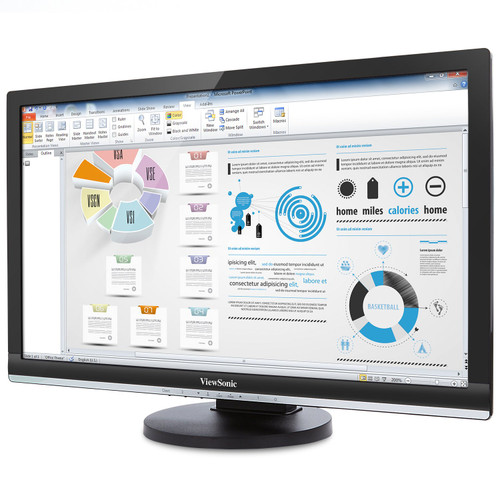 "ViewSonic SD-T245_BK_US0-R 24"" Thin Integrated Client Monitor - C Grade Refurbished"