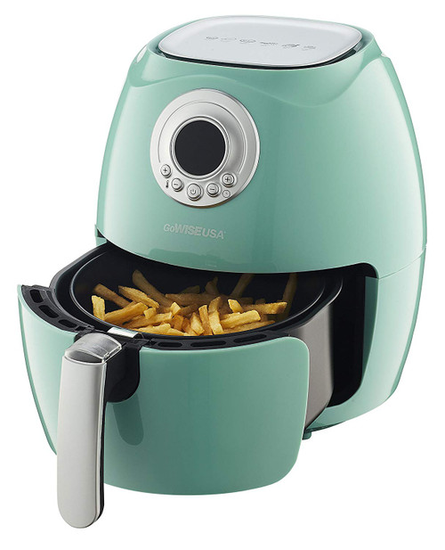 GoWISE USA GW22661-GRN 2.75-Quart Retro Collection Air Fryer - Mint