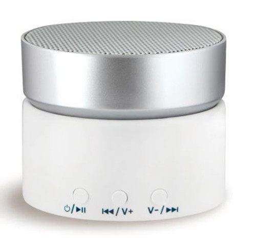 LectroFan ASM1017 Micro Wireless Sleep Sound Machine and Bluetooth Speaker - White