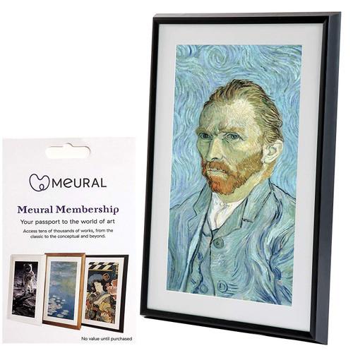 "Netgear MC227BL-100PAS Meural Leonora Digital Art Canvas 27"" HD Display with WiFi - Black"