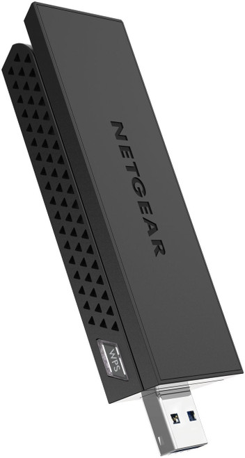 Netgear A6210-10000R AC1200 WiFi 3.0 Adapter-USB -Dual-Band– Refurbished