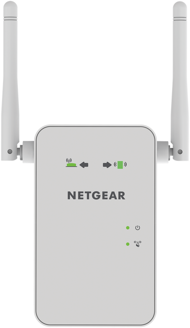 Netgear EX6100-100NAR AC750 WiFi Range Extender with Gigabit Ethernet - Refurbished