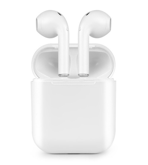 App-EV01192WHT Wireless Earbuds Bluetooth v4.2 HD Stereo Sound (White with Charging Case)