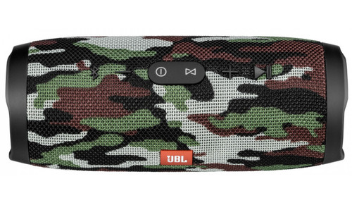 JBL JBLCHARG3SQUADAM-Z Charge 3 Waterproof Portable Speaker Camouflage - Certified Refurbished