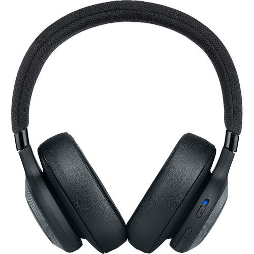 JBL JBLE65BTNCBLK-Z Bluetooth Over-Ear, Noise-Canceling Headphones (Matte Black) – Certified Refurbished