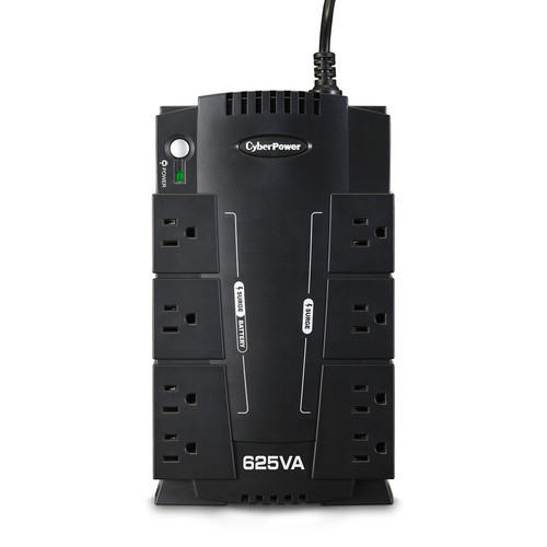 CyberPower SX625G-R 8-Outlet Surge Protector and Battery Backup UPS 120V - Certified Refurbished
