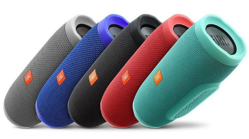 JBL Charge 3 Waterproof Portable Speaker - Choose Color - Certified Refurbished