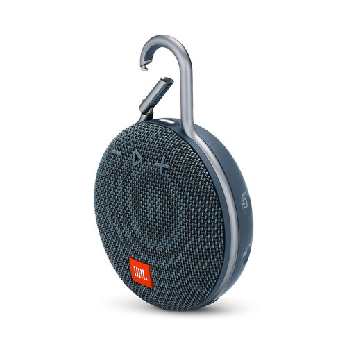 JBL JBLCLIP3BLU-Z Clip 3 Portable Bluetooth Speaker -Blue - Waterproof Wireless- Certified Refurbished