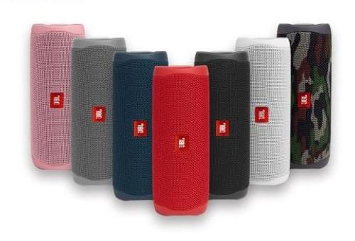 JBL JBLFLIP5PINKAM-Z FLIP 5 Portable Speaker Waterproof - Pink - Certified Refurbished