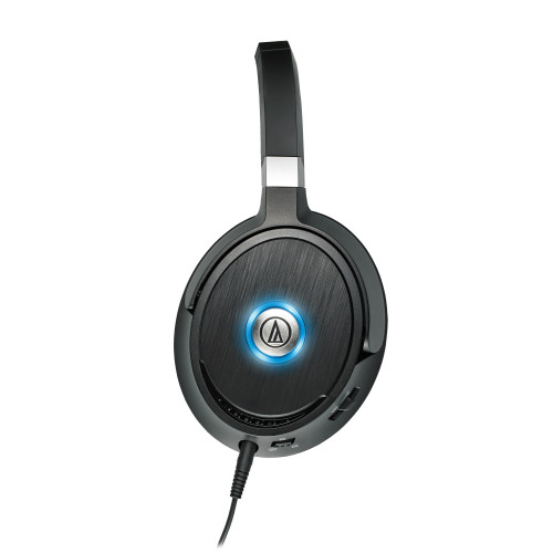 Audio-Technica ATH-ANC70-RB Noise-Cancel Headphones-Active QuietPoint - Certified Refurbished