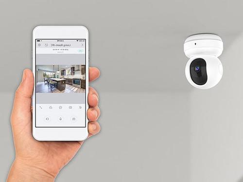 Sharper Image SVC565WH 720p HD Security Camera Pan/Tilt Wireless