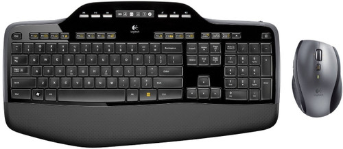 Logitech MK710 Desktop Wireless Keyboard/Mouse Combo USB - Refurbished