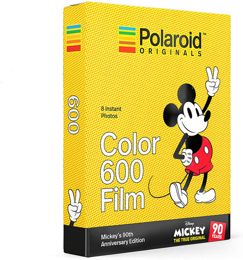Polaroid PRD4860 Originals Limited Edition Color Film for 600 Mickey's 90th Anniversary Edition