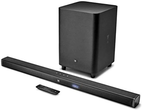 JBL JBLBAR31BLKAM-Z Bar 3.1-Channel Soundbar with Wireless Subwoofer - Certified Refurbished