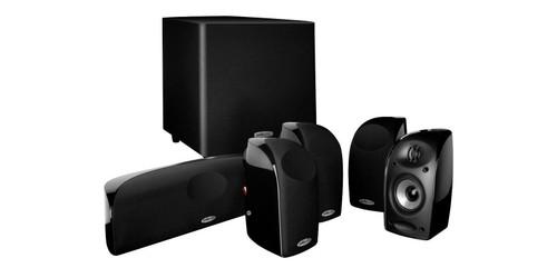 Polk TL1600 6-Piece Surround Sound  Speakers Subwoofer Set