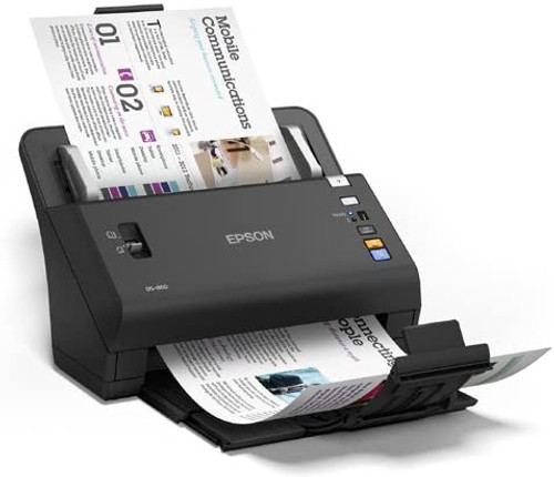 Epson B11B222201-RB WorkForce DS-860 Color Document Scanner - Certified Refurbished