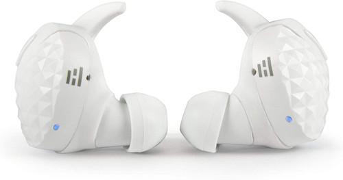 HELM HTW-100W Bluetooth Headphones, Earbuds/Earphones, White