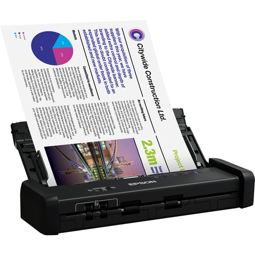 Epson B11B243201-RB DS-320 Portable Duplex Document Scanner with ADF – Certified Refurbished