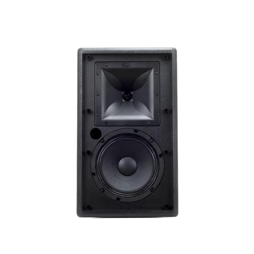 "Klipsch 1061960 Professional Black KI-102-SMA-II 8"" Trapezoidal Loudspeaker - Certified Refurbished"