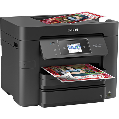 Epson C11CH04201-RB WorkForce Pro WF-3730 All-in-One Inkjet Printer – Certified Refurbished