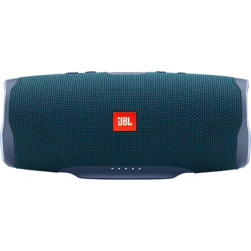 JBL Charge 4 Speaker -Free X Headphones Bundle Blue, JBLCHARGE4BLUAM-Z -and JBLFREEXBLKBTAM-Z - Certified Refurbished