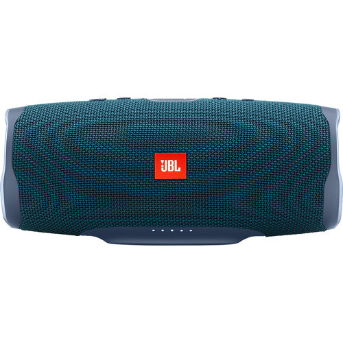 JBL Charge 4 Speaker -Free X Headphones Bundle Blue, JBLCHARGE4BLUAM-Z -and JBLFREEXBLKBTAM-Z - Certified Refurbished