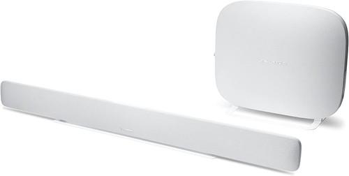 Harman HKOMNIBARPLWHT-Z Kardon Omni Bar+ 120W Virtual 5.1-Channel Soundbar System, White – Certified Refurbished