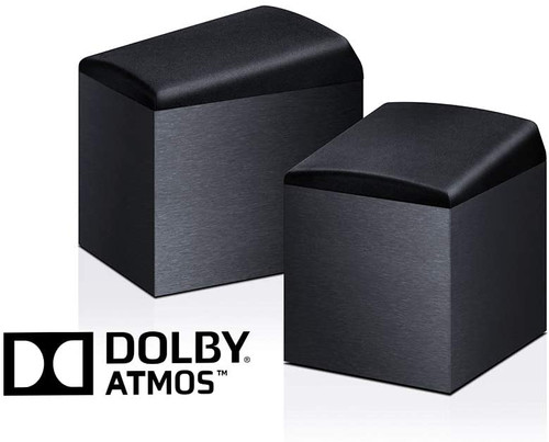 Onkyo SKH-410 Dolby Atmos-Enabled Speaker System Pair, Black