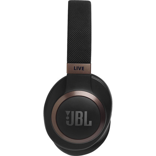 JBL JBLLIV650BTNCBAM-Z LIVE 650BTNC Wireless Noise-Canceling Headphones, Black – Certified Refurbished
