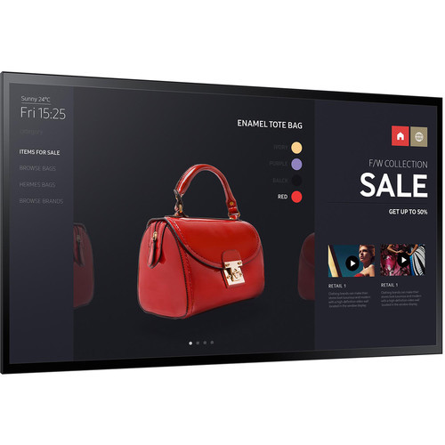 """Samsung LH55PMFXTBA/GO-RB 55"""" Edge-Lit LED Multi-Point Capacitive Touch Display - Certified Refurbished"""
