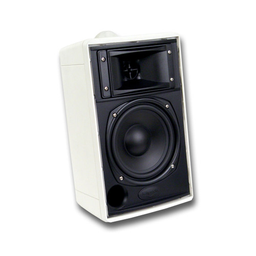 Klipsch 1066041 KHO-7 Outdoor Speakers Pair White- Certified Refurbished