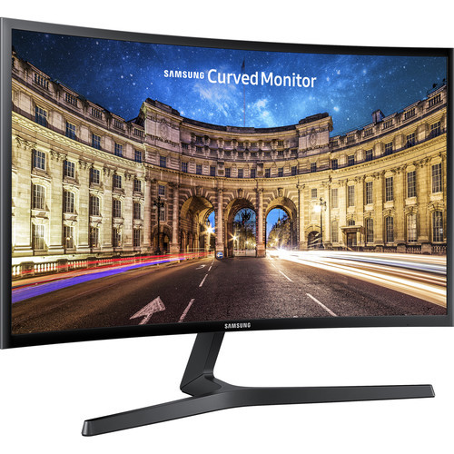 "Samsung LC27F398FWNXZA-RB 27"" CF398 Curved LED Monitor - Certified Refurbished"