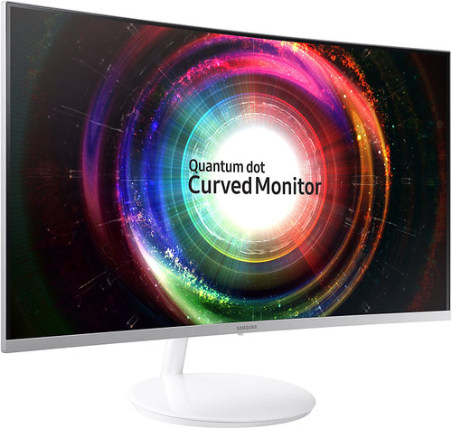 """Samsung LC32H711QENXZA-RB 32"""" CH711 Curved Monitor - Certified Refurbished"""