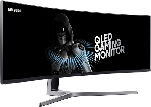 "Samsung LC49HG90DMNXZA-RB 49"" CHG90 QLED Curved Gaming Monitor - Certified Refurbished"