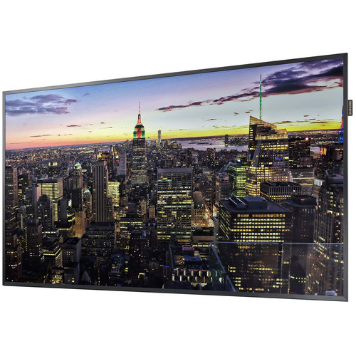 "Samsung LH49QMREBGCXZA-RB 49"" Edge-Lit 4K UHD LED Display - Certified Refurbished"