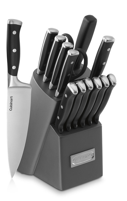Cuisinart C77TR 15-Piece Triple Rivet Knife Block Set