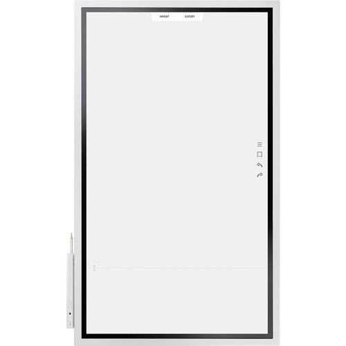 "Samsung LH55WMHPTWC/ZA-RB 55"" 4K UHD Digital Flip Chart Interactive Display - Certified Refurbished"