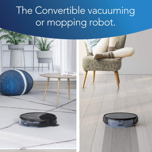 Ecovacs DEEBOT661-RB Convertible Vacuuming or Mopping Robotic Vacuum Cleaner - Certified Refurbished