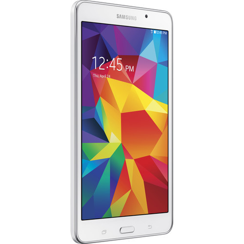 "Samsung SM-T230NZWAXAR-RB 7.0"" Galaxy Tab 4 8GB ultra-slim Android Tablet, White - Certified Refurbished"