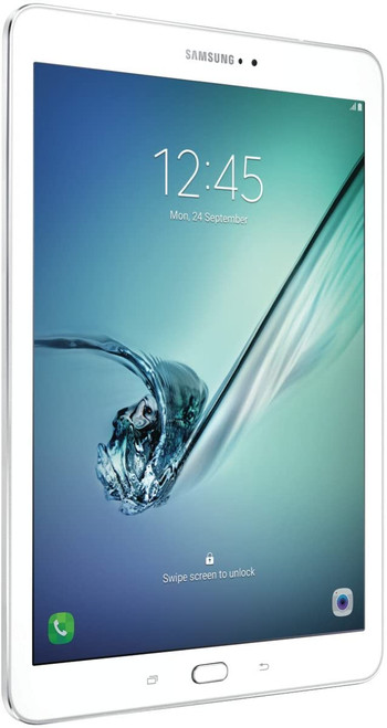 """Samsung SM-T817VZWAVZW-RB 9.7"""" Galaxy Tab S2 32GB Wi-Fi + 4G LTE Android Tablet, White - Certified Refurbished"""