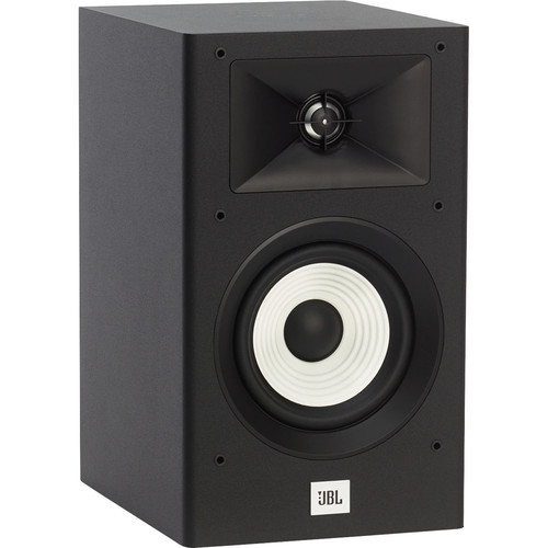 JBL JBLA130BLK-Z Stage A130 Floor Book Shelf Loudspeaker Pair, Black - Certified Refurbished