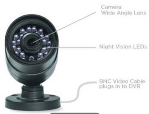 Uniden B6440D Guardian 720P 4-Pack DVR Video Security System - Refurbished