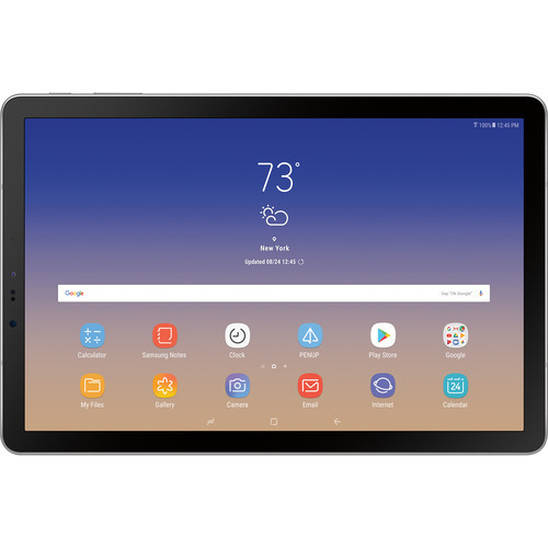 """Samsung SM-T830NZAAXAR-RB 10.5"""" Galaxy Tab S4 64GB WiFi S Pen Android Tablet, Gray - Certified Refurbished"""